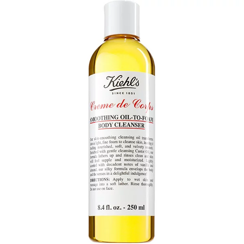 Kiehl's Smoothing Oil-to-Foam Body Cleanser