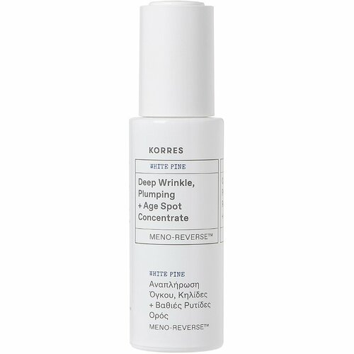 KORRES White Pine Meno-Reverse™ Deep Wrinkle, Plumping + Age Spot Concentrate