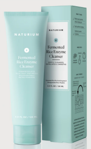 Naturium Skincare Fermented Rice Enzyme Cleanser