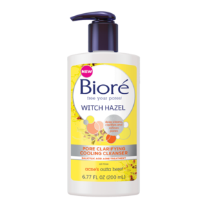 Biore Witch Hazel Pore Clarifying Cooling Cleanser