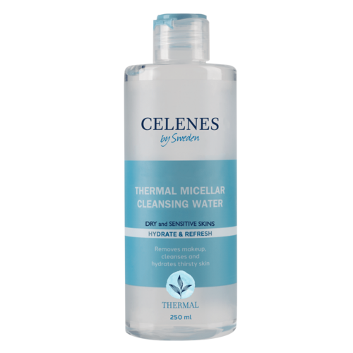 Celenes by Sweden Thermal Micellar Cleansing Water / Dry and Sensitive Skin