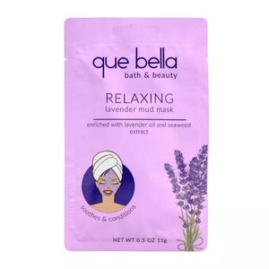 Que Bella Relaxing Lavender Mud Face Mask