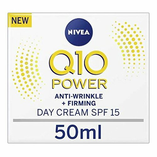Nivea Q10 Plus Creatine Anti Wrinkle Day Cream with SPF 15