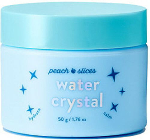 Peach Slices Water Crystal Hydrating Shimmer Peel-Off Mask