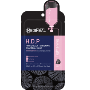 Mediheal H.D.P Photoready Tightening Charcoal Mask