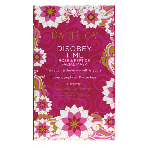 Pacifica Disobey Time Rose and Peptide Face Mask