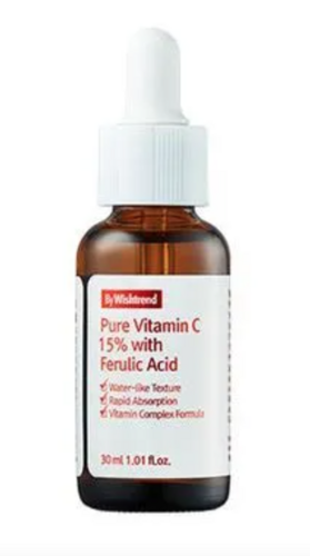 By WishTrend Pure Vitamin C 15% with Ferulic Acid