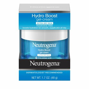 Neutrogena Hydro Boost Hyaluronic Acid Gel Face Moisturizer to hydrate and smooth extra-dry skin