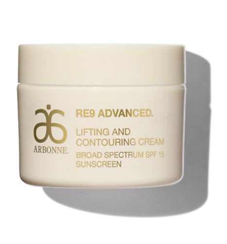 Arbonne RE9 Advanced Lifting and Contouring Cream SPF 15 Sunscreen