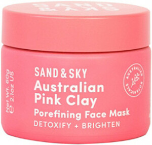 Sand and Sky Australian Pink Clay Porefining Face Mask