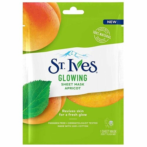 St. Ives Glowing Apricot Face Mask Sheet