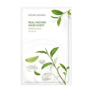 The Face Shop Real Nature Face Mask - Green Tea