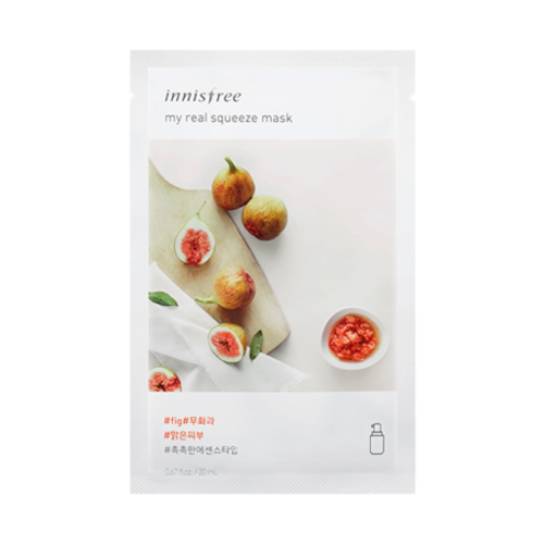 innisfree My Real Squeeze Mask [Fig]