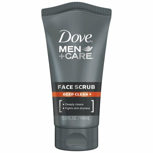 Dove Men+Care Deep Clean + Facial Cleanser Exfoliating Face Wash