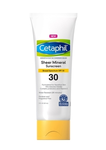 Cetaphil Sheer Mineral Sunscreen Lotion SPF 30