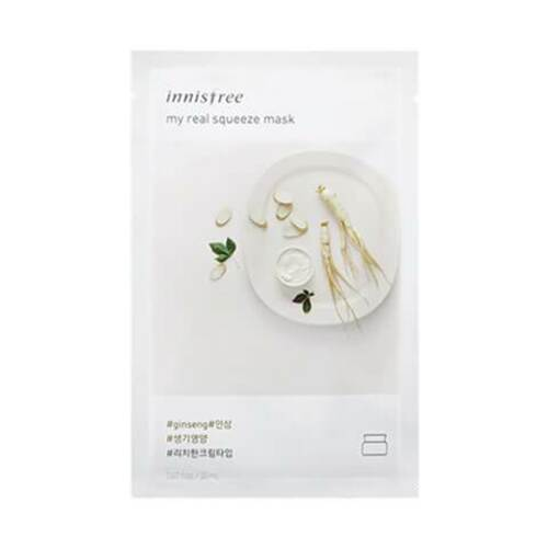 innisfree My Real Squeeze Mask [Ginseng]