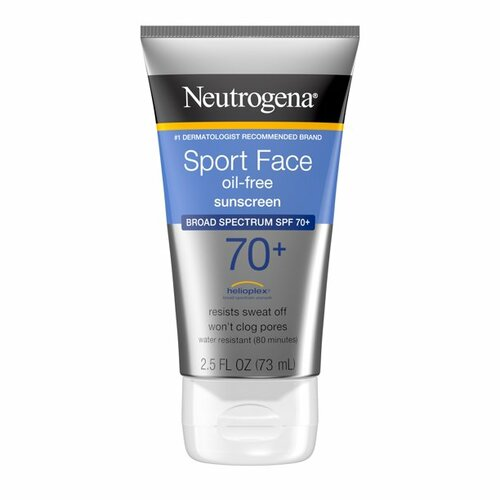 Neutrogena Ultimate Sport Face Oil-Free Sunscreen Lotion - SPF 70+