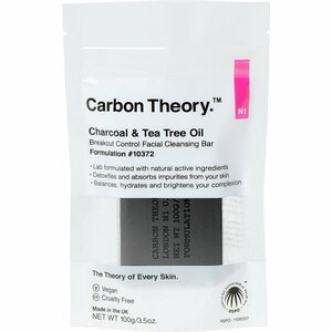 Carbon Theory Charcoal & Tea Tree Oil Cleansing Bar