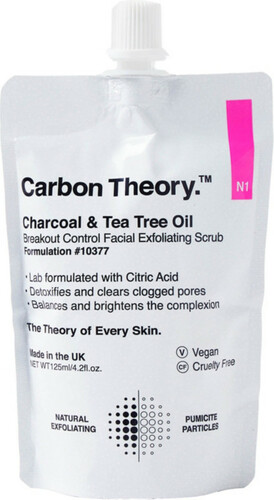 Carbon Theory Facial Exfoliating Scrub