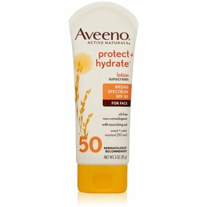 Aveeno Protect Hydrate Face Sunscreen Lotion With - SPF 50