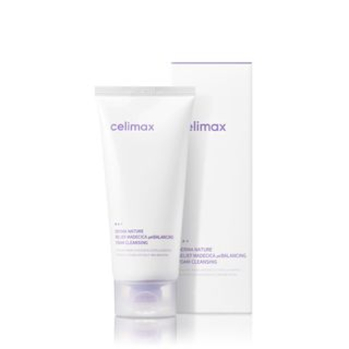 Celimax Derma Nature Relief Madecica pH Balancing Foam Cleanser