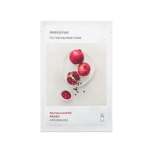 innisfree My Real Squeeze Mask [Pomegrenate]