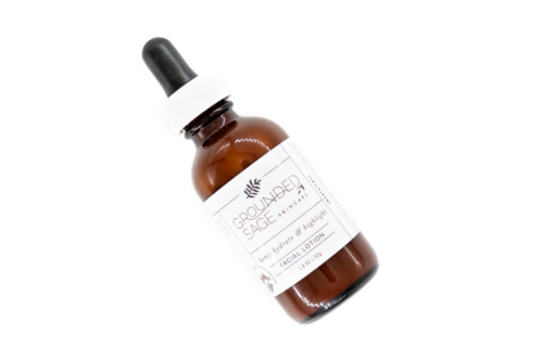 Grounded Sage Hemp Hydrate and Highlight Facial Lotion