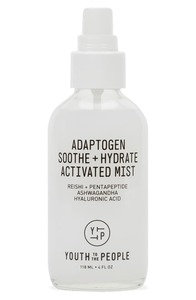 Youth To The People Adaptogen Soothe + Hydrate Activated Mist with Peptides