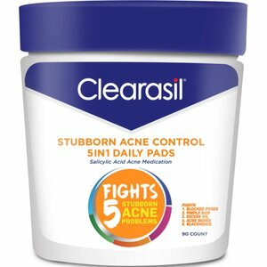 Clearasil Stubborn Acne Control - 5in1 Daily Pads