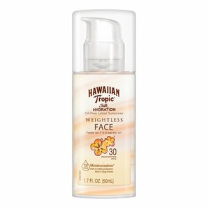 Hawaiian Tropic Silk Hydration Weightless Face Sunscreen - SPF 30