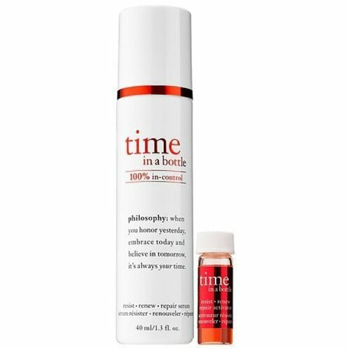 Philosophy time in a bottle vitamin 100% in control serum