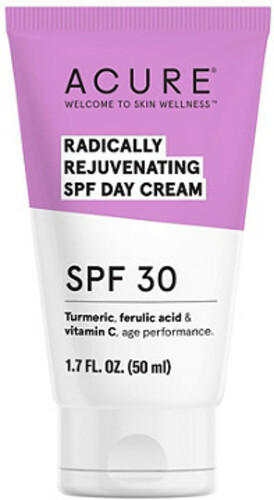 Acure Radically Rejuvenating Day Cream Facial Moisturizers - SPF 30