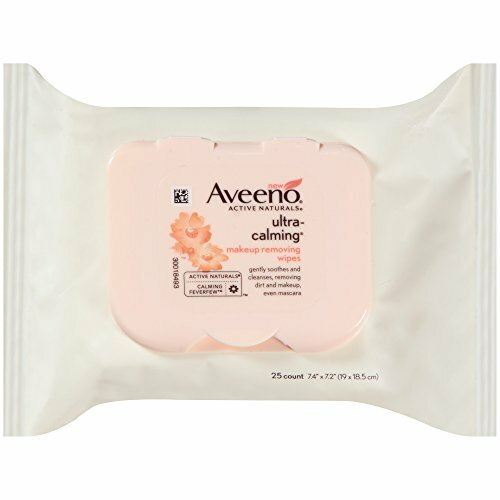 Aveeno Ultra-Calming Cleansing Makeup Removing Wipes