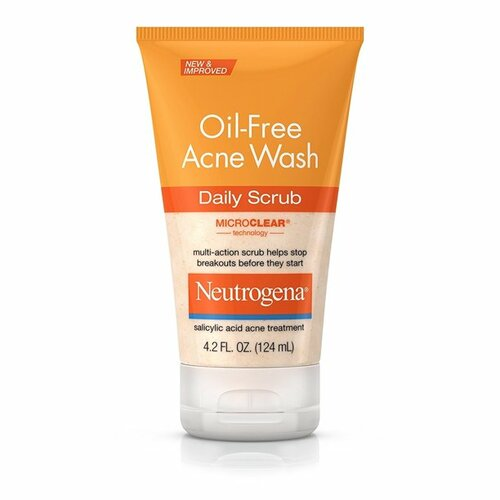 Neutrogena Oil-Free Acne Face Wash Daily Scrub With Salicylic Acid