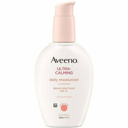 Aveeno Ultra-Calming Fragrance-Free Daily Facial Moisturizer with SPF 15