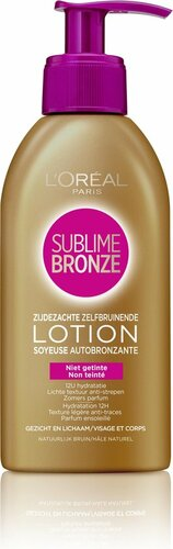 L'Oreal Sublime Bronze Self-Tanning Lotion