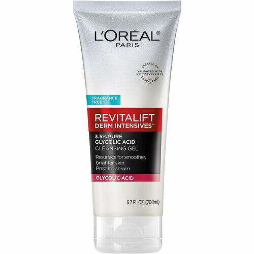 L'Oreal Revitalift Derm Intensives 3.5% Pure Glycolic Acid Cleansing Gel