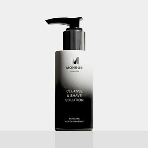 Monroe Skincare Cleanse & Shave Solution