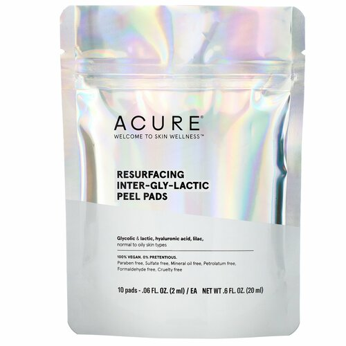 Acure Resurfacing Inter-Gly-Lactic Peel Pads