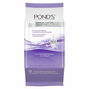 Pond's Moisture Clean Evening Soothe Makeup Remover Wipes