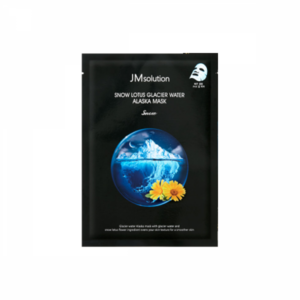 JMsolution Snow Lotus Glacier Water Alaska Mask