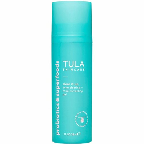 Tula Skincare  Clear It Up Acne Clearing and Tone Correcting Gel