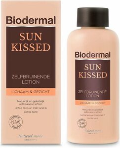 Biodermal Sun Kissed Self Tanning Lotion for Body & Face
