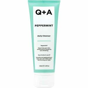 Q + A Peppermint Daily Cleanser