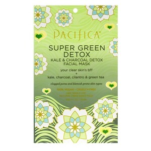 Pacifica Super Green Detox Kale and Charcoal Face Mask