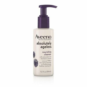 Aveeno Absolutely Ageless Facial Nourishing Anti-Aging Cleanser