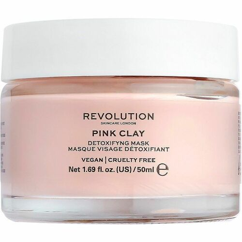 Revolution Beauty Pink Clay Detoxifying Face Mask