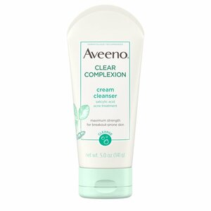 Aveeno Clear Complexion Cream Cleanser With Salicylic Acid