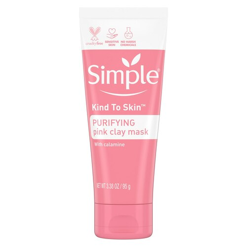Simple Skincare Kind to Skin Pink Clay Face Mask