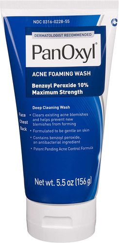 Panoxyl Anti-Microbial Acne Foaming Wash with 10% Benzoyl Peroxide